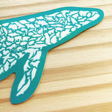 Humpback Whale Sticker - Alice Frost Studio
