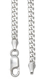Sterling Silver Chain, Various Sizes & Styles - LooptyHoops