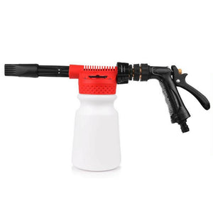 High Power Foam Cannon - Garden Hose Detail Planet
