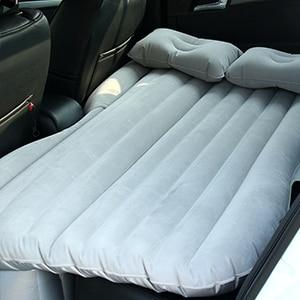 Inflatable Vehicle Mattress Grey Detail Planet