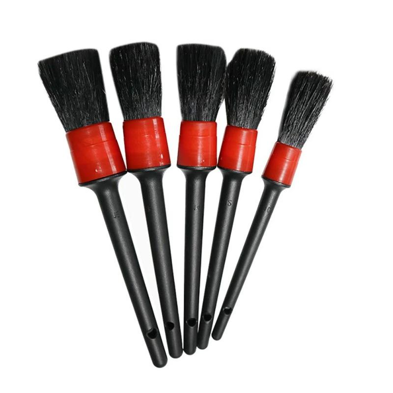 Interior Detailing Brush Set