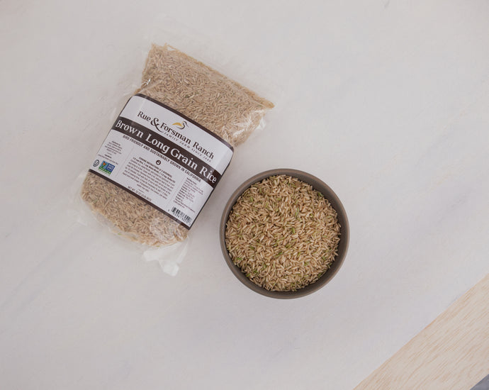 Brown Long Grain Rice - 2 lb. Bag