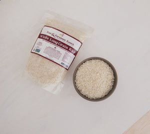 Long Grain White Rice - 25lb.