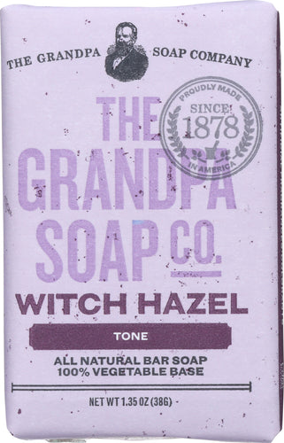 GRANDPAS: SOAP BAR WITCH HAZEL (1.350 OZ)