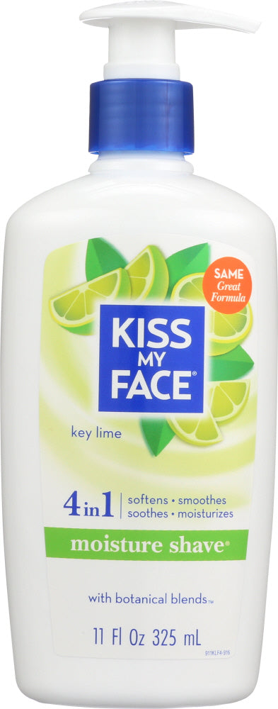 KISS MY FACE: Moisture Shave Key Lime, 11 fl oz