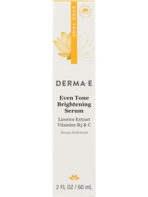 DERMA E: Evenly Radiant Brightening Serum, 2 oz