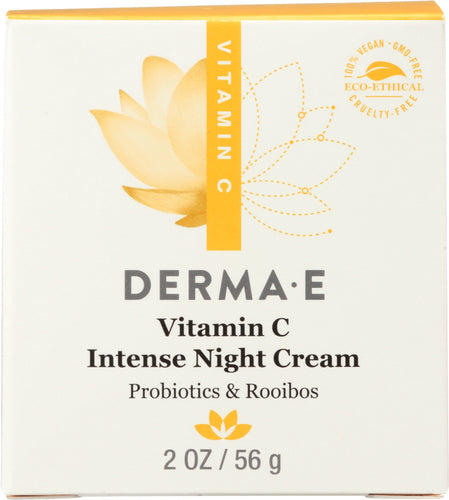 DERMA E: Vitamin C Intense Night Cream, 2 oz