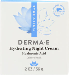 DERMA E: Hydrating Night Cream, 2 oz