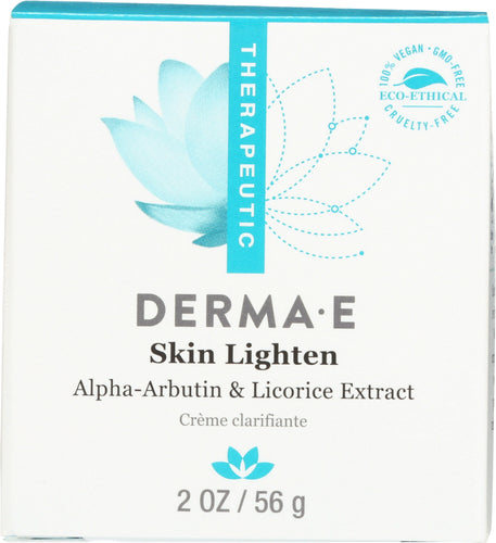 DERMA E: Skin Lighten Natural Fade and Age Spot Creme, 2 oz