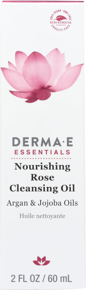DERMA E: Nourishing Rose Cleansing Oil, 2 oz