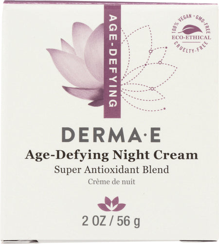 DERMA E: Age-Defying Night Crème, 2 oz