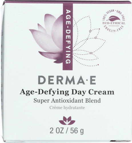 DERMA E: Natural Body Care Age Defying Day Crème, 2 oz