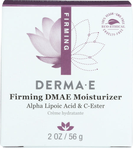 DERMA E: Firming DMAE Moisturizer with Alpha Lipoic and C-Ester, 2 oz