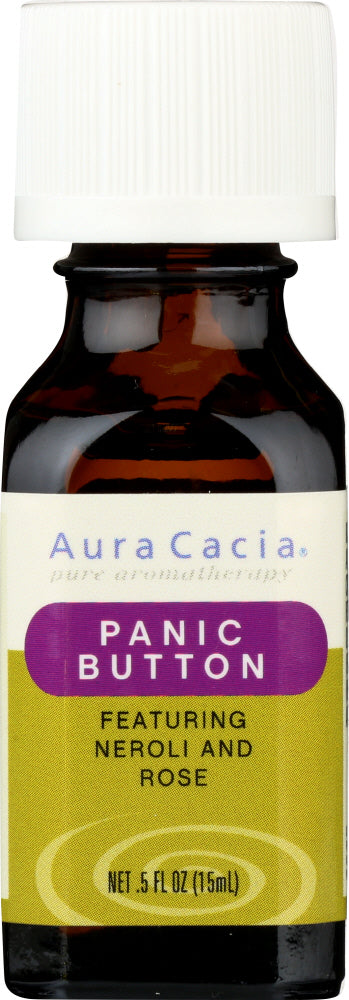 AURA CACIA: Essential Solutions Panic Button 0.5 oz - One Body Beauty