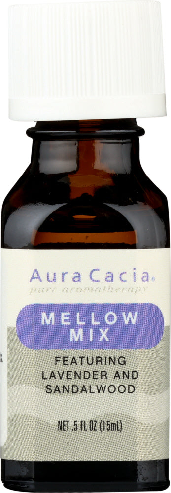AURA CACIA: Essential Solutions Mellow Mix 0.5 oz - One Body Beauty
