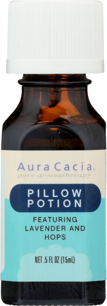 AURA CACIA: Essential Solutions Pillow Potion 0.5 oz - One Body Beauty