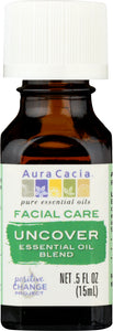 AURA CACIA: Essential Oil Facial Uncover 0.5 oz - One Body Beauty
