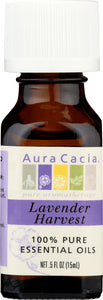 AURA CACIA: 100% Pure Essential Oil Lavender Harvest, 0.5 oz - One Body Beauty