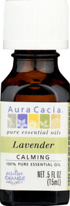 AURA CACIA: 100% Pure Essential Oil Lavender, 0.5 Oz - One Body Beauty