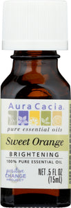 AURA CACIA: 100% Pure Essential Oil Sweet Orange, 0.5 Oz - One Body Beauty
