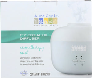 AURA CACIA: Mist Diffuser Essential Oil 1 ea - One Body Beauty
