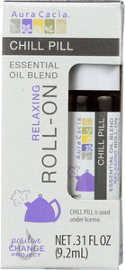 AURA CACIA: Oil Essential Roll Chill Pill 0.31 oz