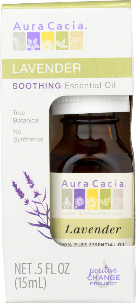 AURA CACIA: Oil Essential Lavender Boxed 0.5 oz