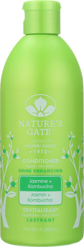 NATURES GATE: Conditioner Kombucha Jasmine, 18 oz