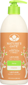 NATURE'S GATE: Moisturizing Hemp Lotion, 18 oz