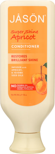 JASON: Pure Natural Conditioner Super Shine Apricot, 16 oz