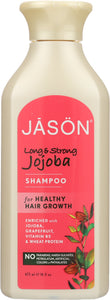 JASON: Pure Natural Shampoo Long & Strong Jojoba, 16 oz