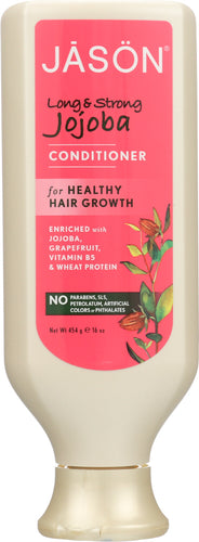 JASON: Pure Natural Conditioner Long & Strong Jojoba, 16 oz