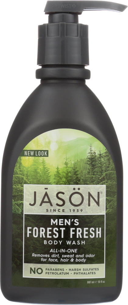 JASON: Body Wash Mens All in One, 30 oz