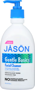 JASON: Facial Cleanser Gentle, 16 oz