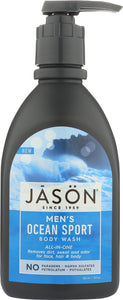 JASON: Body Wash Mens Ocean Sport, 30 fo