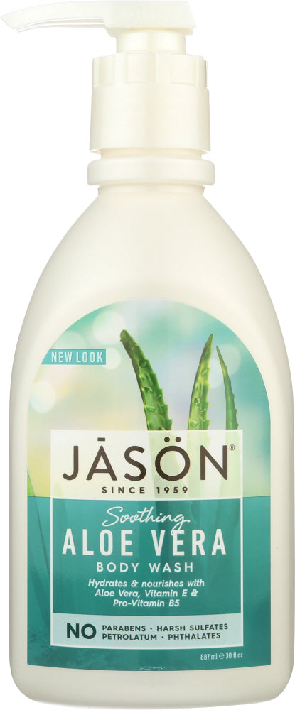 JASON: Body Wash Soothing Aloe Vera, 30 oz