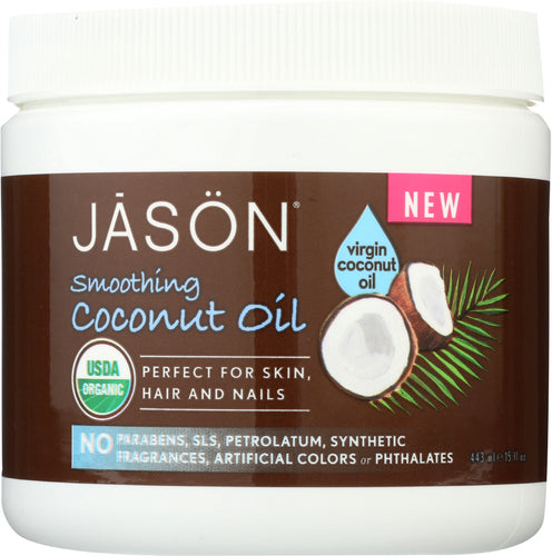 JASON: Organic Smoothing Coconut Oil, 15 oz