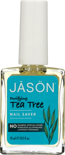 JASON: Nail Saver Tea Tree, 0.5 oz