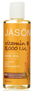 JASON: Vitamin E 5,000 I.U. Skin Oil, 4 oz