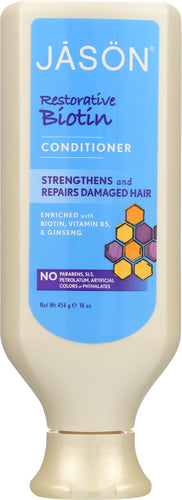JASON: Conditioner Restorative Biotin, 16 oz
