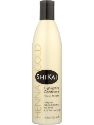SHIKAI: Henna Gold Highlighting Conditioner, 12 Oz