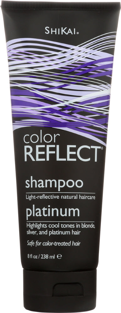 SHIKAI: Color Reflect Shampoo Platinum, 8 oz