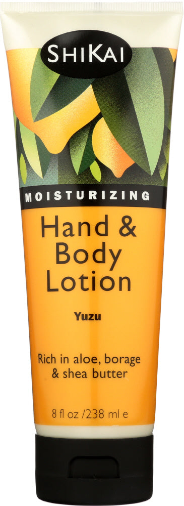 SHIKAI: All Natural Hand & Body Lotion Yuzu, 8 oz