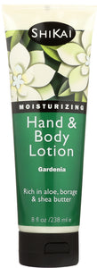 SHIKAI: All Natural Hand & Body Lotion Gardenia, 8 oz