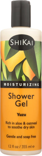 SHIKAI: All Natural Moisturizing Shower Gel Yuzu, 12 oz