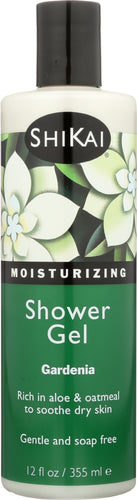 SHIKAI: All Natural Moisturizing Shower Gel Gardenia, 12 oz