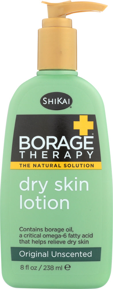 SHIKAI: Borage Therapy Dry Skin Lotion Original Unscented, 8 oz
