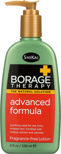 SHIKAI: Borage Therapy Advanced Formula Lotion Fragrance-Free, 8 Oz