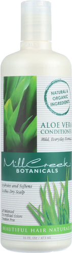 MILL CREEK: Aloe Vera Conditioner Mild Formula, 16 oz