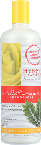 MILL CREEK: Henna Shampoo Enhancing Formula , 16 oz